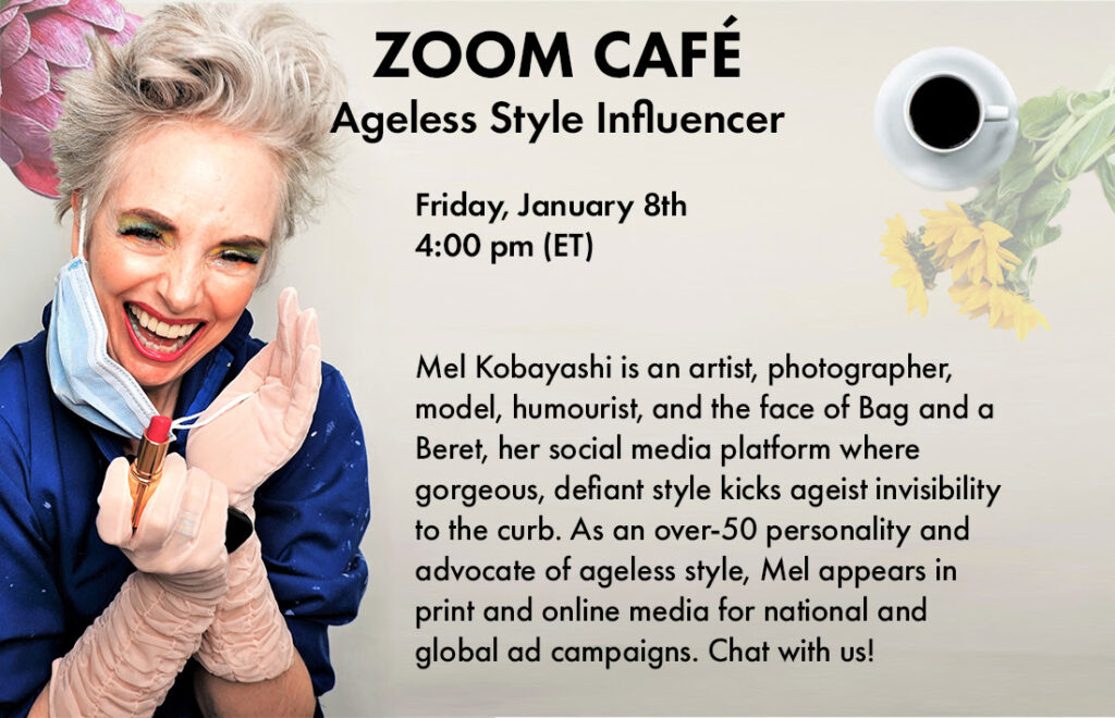 We met influencer Mel Kobayashi to talk about creativity and ageless style.
