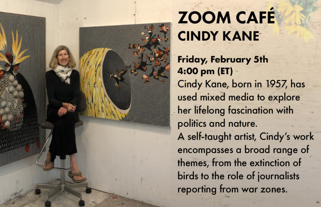 We met artist Cindy Kane to talk about art, inspiration and everything in between.